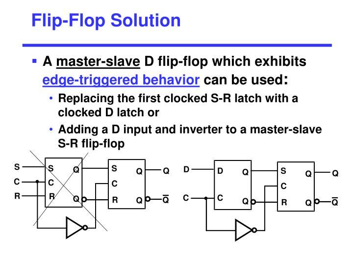 Flip-Flop Solution