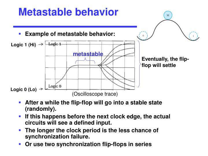Metastable behavior