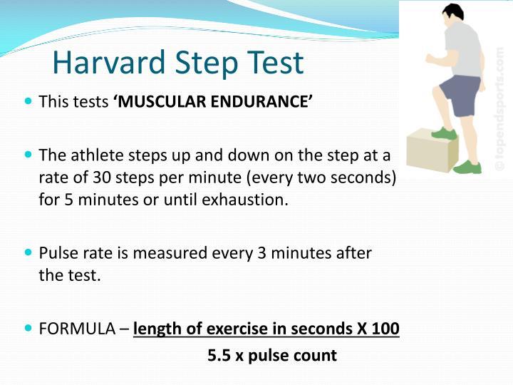 Harvard Step Test
