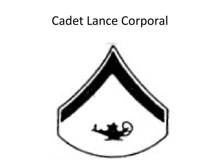 Cadet Lance Corporal