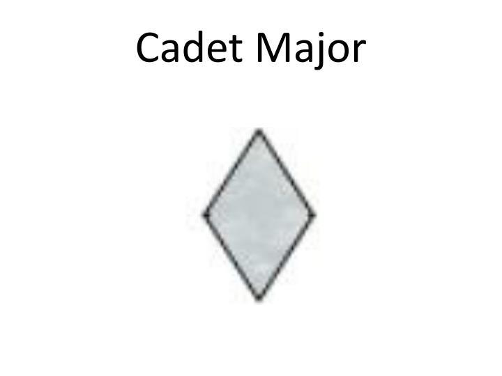 Cadet Major