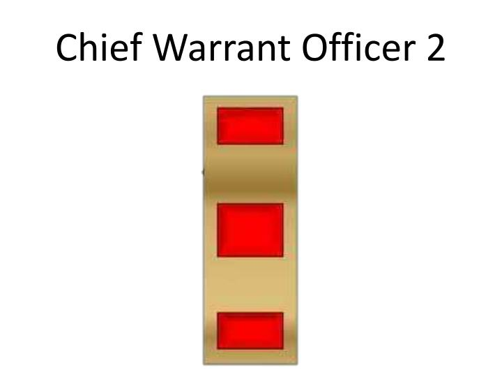Chief Warrant Officer 2
