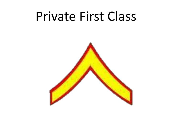 Private First Class