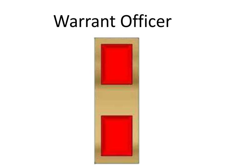 Warrant Officer