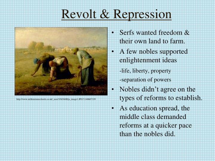 Revolt & Repression