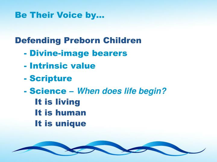 Be Their Voice by…