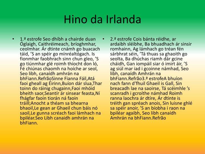 Hino da Irlanda