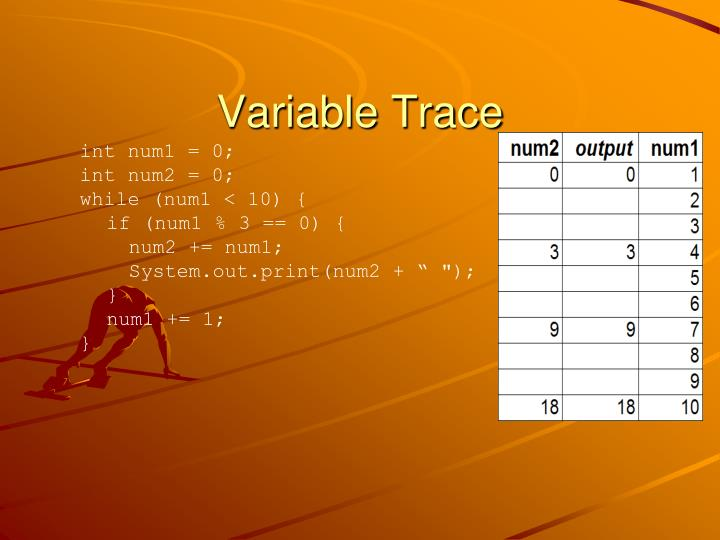 Variable Trace