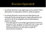 division operated1