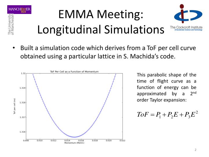 Emma meeting longitudinal simulations1