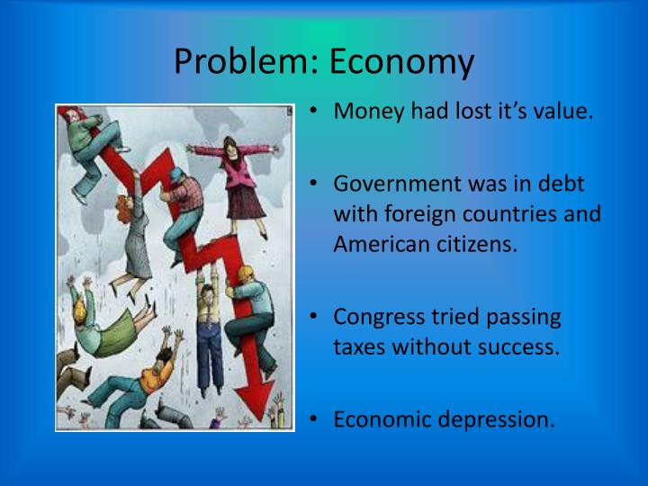 Problem: Economy