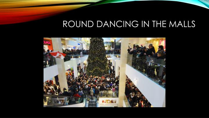 Round Dancing In the Malls