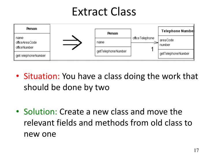 Extract Class