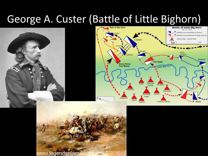 George A. Custer (Battle of Little Bighorn)