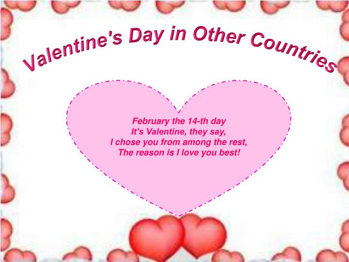 Valentine s day in other countries