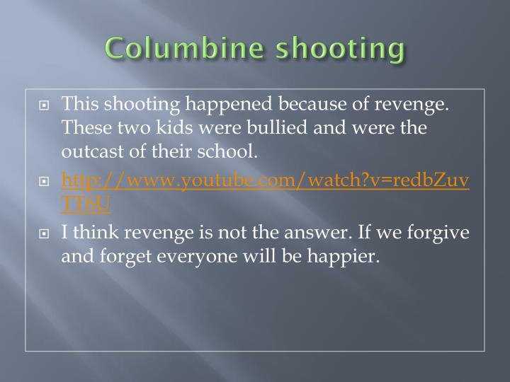 Columbine shooting