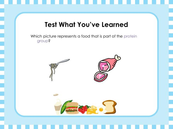 Test What You've Learned