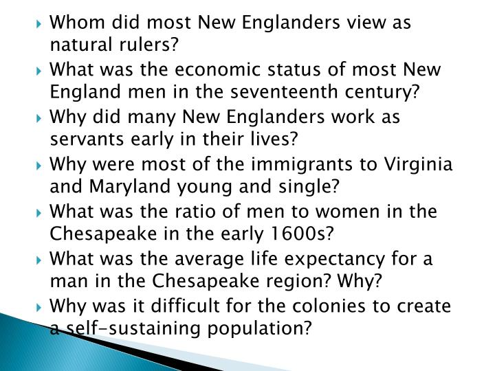 Whom did most New Englanders view as natural rulers?