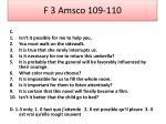 f 3 amsco 109 1101