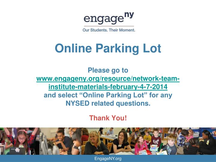 Online Parking Lot