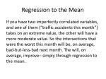 regression to the mean6