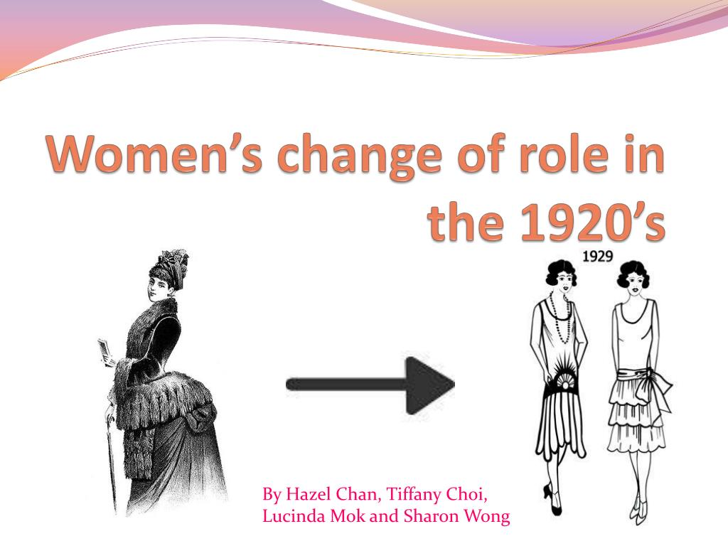 how did the role of women change