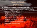 seventy weeks daniel 9 24