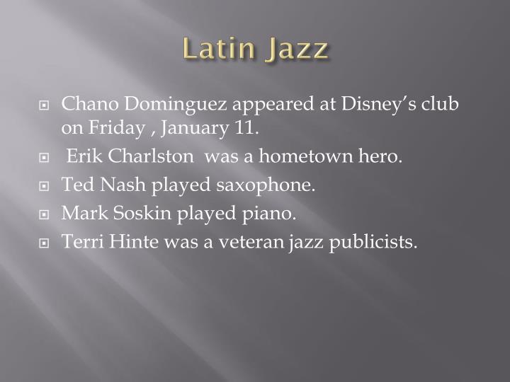 Latin jazz1