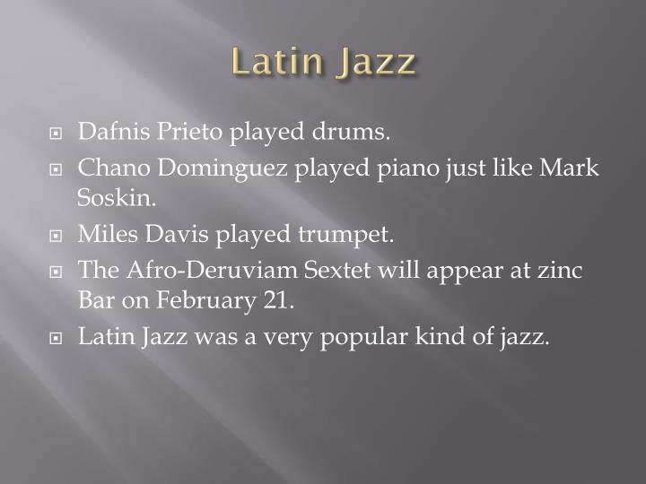 Latin jazz2