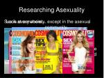 researching asexuality