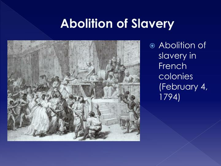 Abolition of Slavery