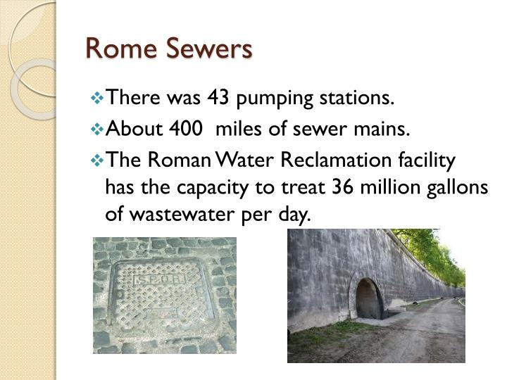 Rome sewers