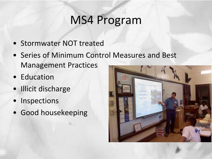 MS4 Program