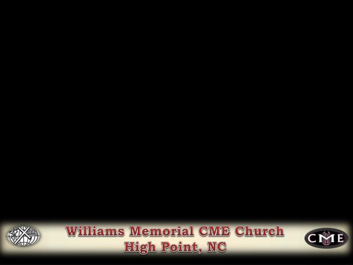 Williams Memorial CME Church
