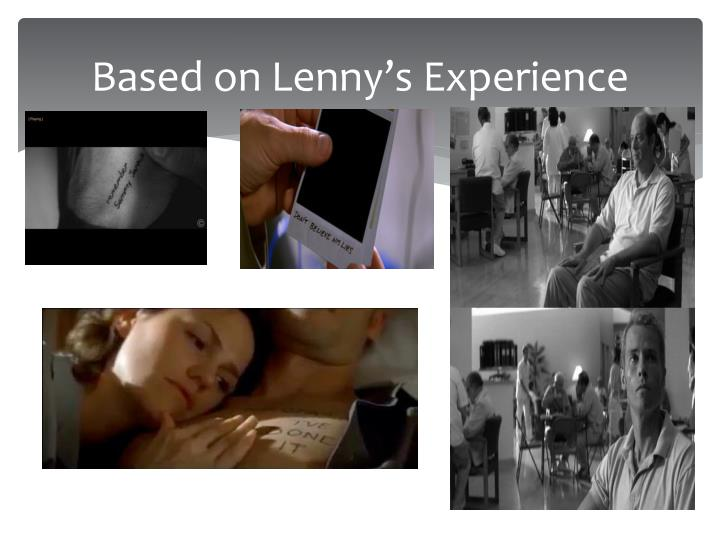 Based on Lenny's Experience