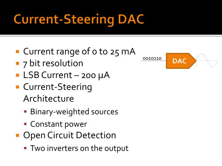 Current-Steering DAC