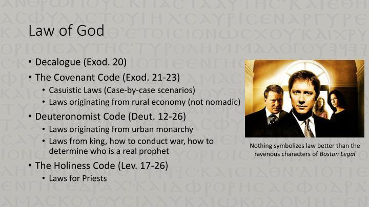Law of God