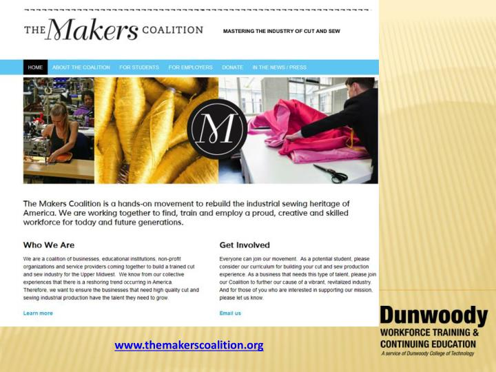 www.themakerscoalition.org