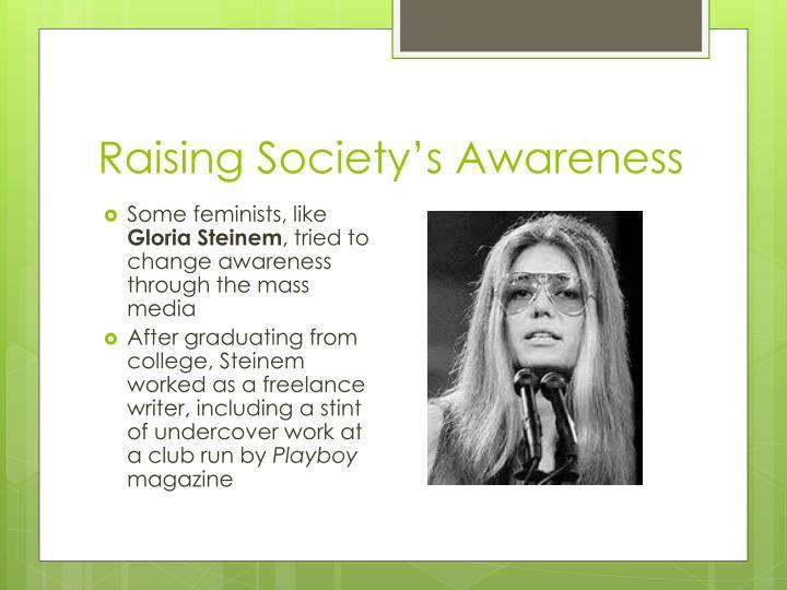 Raising Society's Awareness