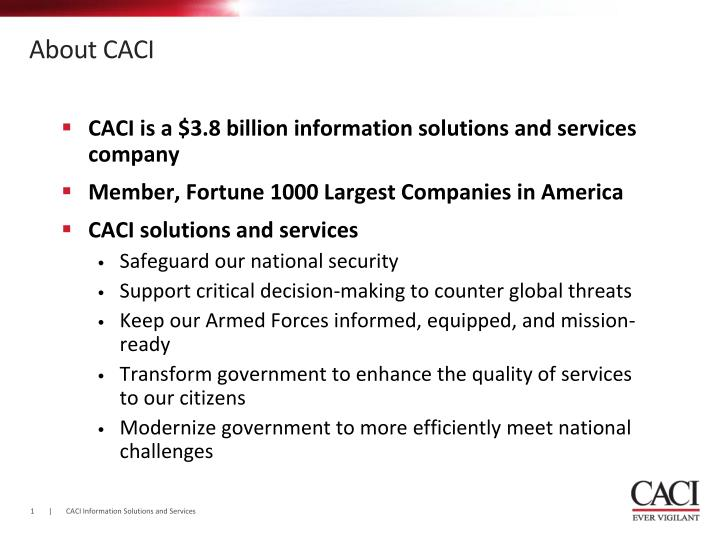 About caci