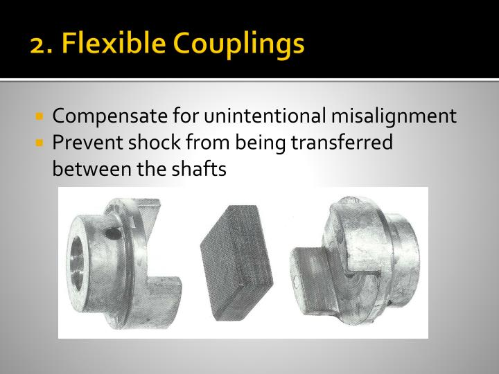 2. Flexible Couplings