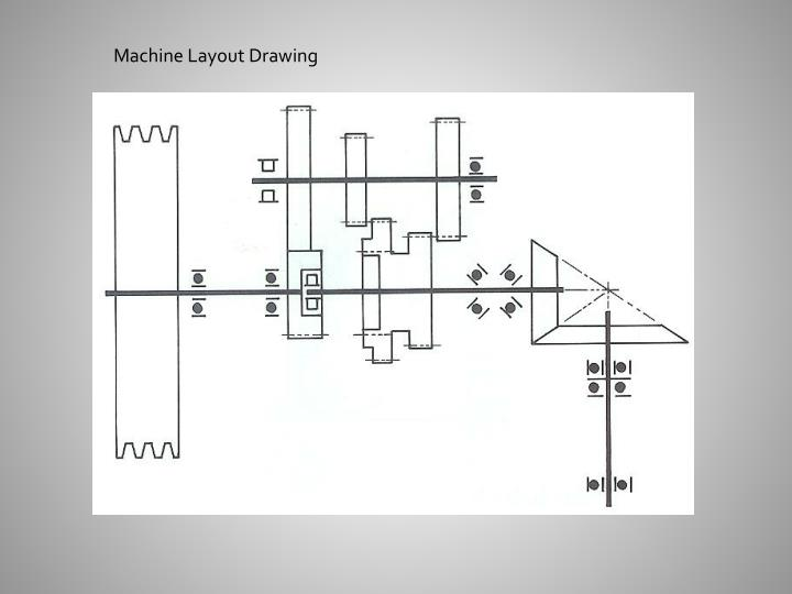Machine Layout Drawing