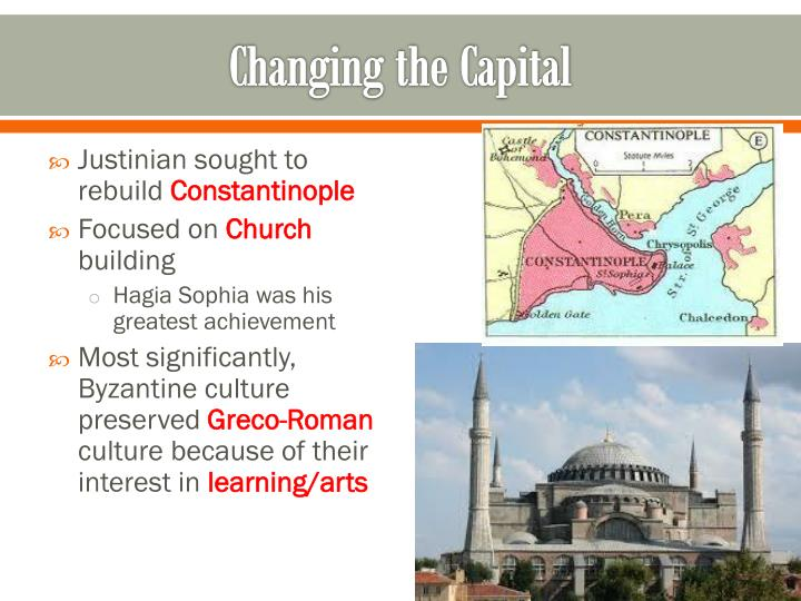 Changing the Capital