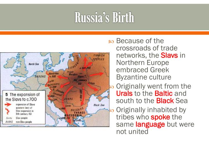 Russia's Birth