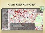 open street map osm