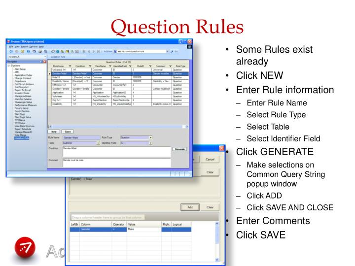 Question Rules