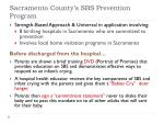 sacramento county s sbs prevention program