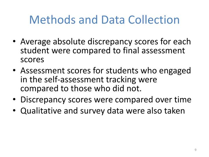 Methods and Data Collection