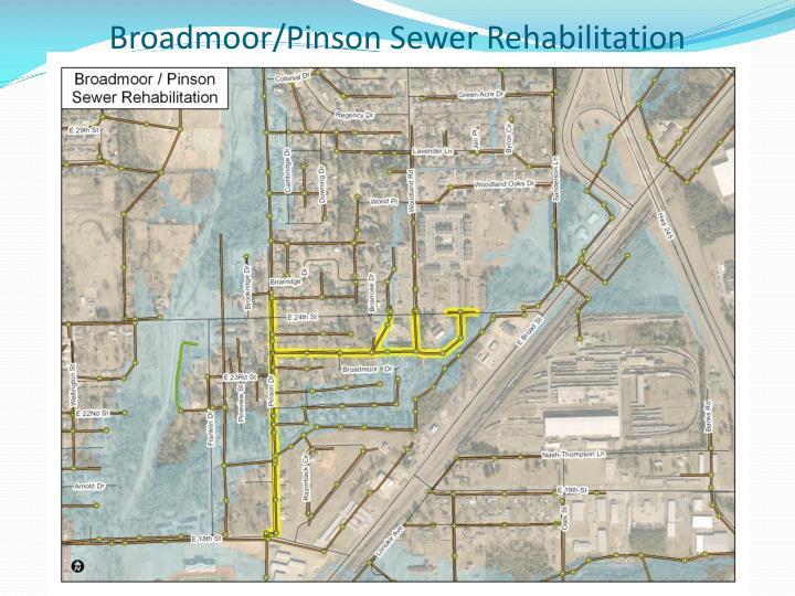 Broadmoor/Pinson Sewer Rehabilitation