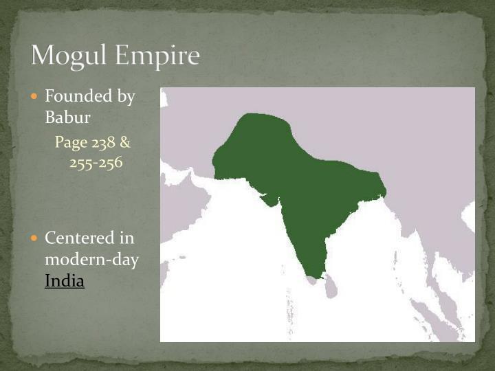 Mogul Empire
